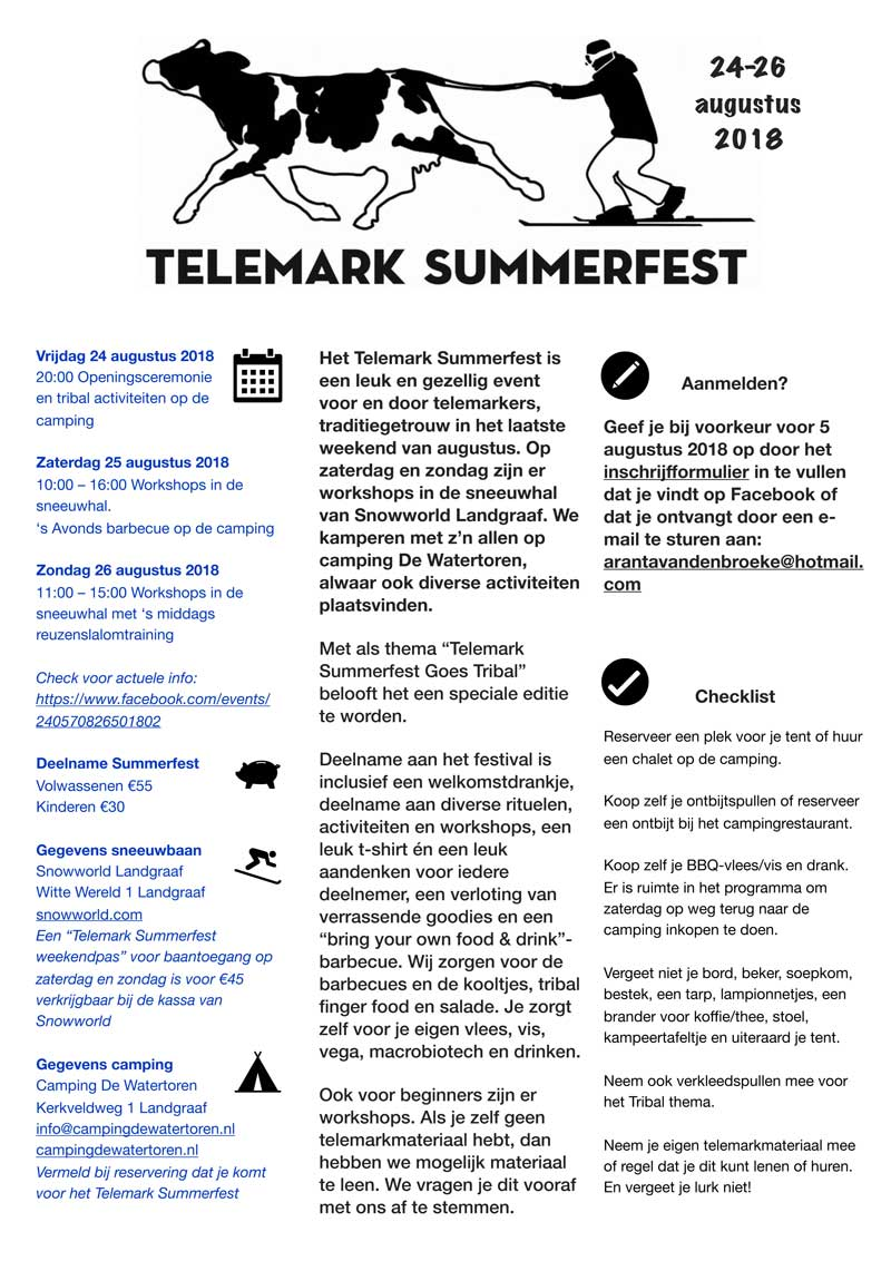telemark summerfest 2018